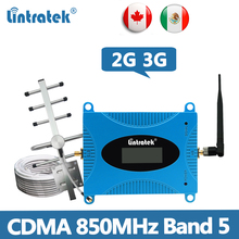 CDMA 850MHz Repeater GSM 2G 3G Signal Booster Band 5 850MHz Cellphone Amplifier CDMA Repeater 850 Repetidor for South America