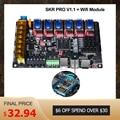 BIGTREETECH SKR PRO V1.1 плата контроллера 32 бит + Wifi адаптер модуль части 3d принтера vs MKS GEN L TMC2208 TMC2130 TMC2209