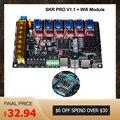 BIGTREETECH SKR PRO V1.1 płyta kontrolera 32 bit + moduł adaptera Wifi części drukarki 3D vs mks gen L TMC2208 TMC2130 TMC2209