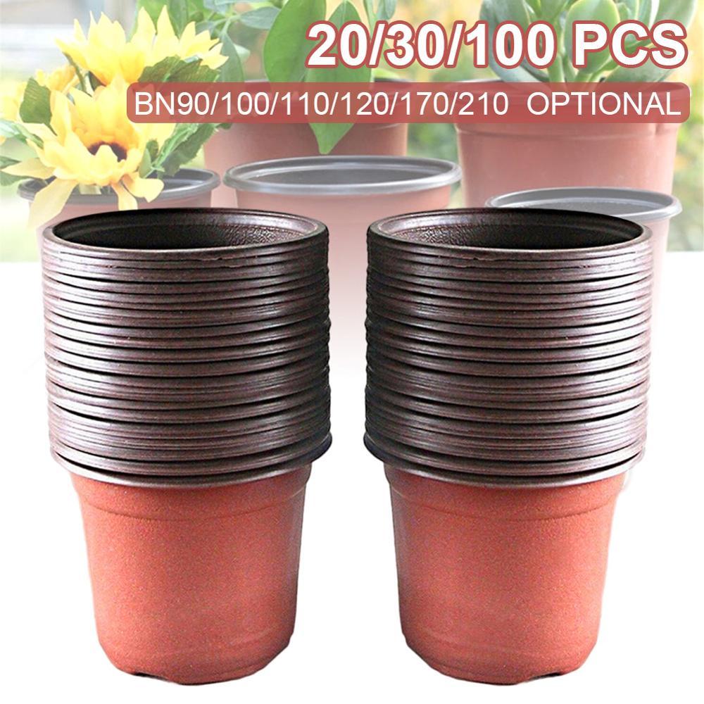PP пластиковый посадочный горшок, горшок для растений, садовые растения, светящиеся горшки, больше размеров для садовых инструментов для посадки|Детские горшки|   | АлиЭкспресс