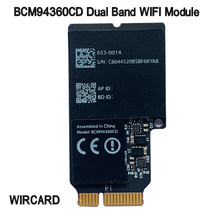 Wircard Dual Band 1750Mbps BCM94360CD 802.11AC Wifi Nirkabel Bluetooth 4.0 Bcm94360cd Asli Kartu Airdrop untuk Hackintosh Mac OS(China)