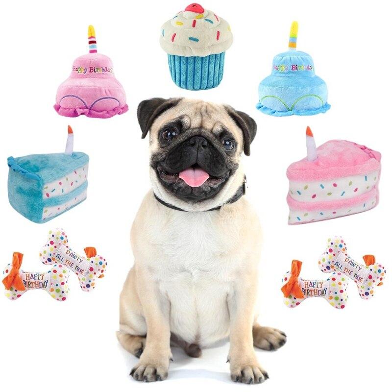 Prime Best Sale Fh2Oe 1Pc Pet Toy Plush Squeaky Bone Dog Toys Cartoon Funny Birthday Cards Online Alyptdamsfinfo