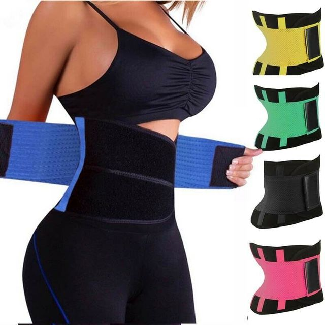 Womens Shaper Unisex Waist Cincher Trimmer Tummy Slimming Belt Body Shapers Latex Waist Trainer Woman Postpartum Corset Shaper