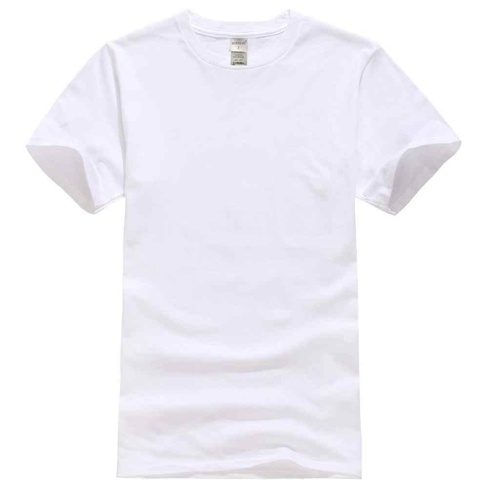 2020 baru warna Solid T Shirt Pria Hitam Dan Putih 100% katun Musim Panas Skateboard Tee Boy Skate Tshirt Atasan ukuran Eropa