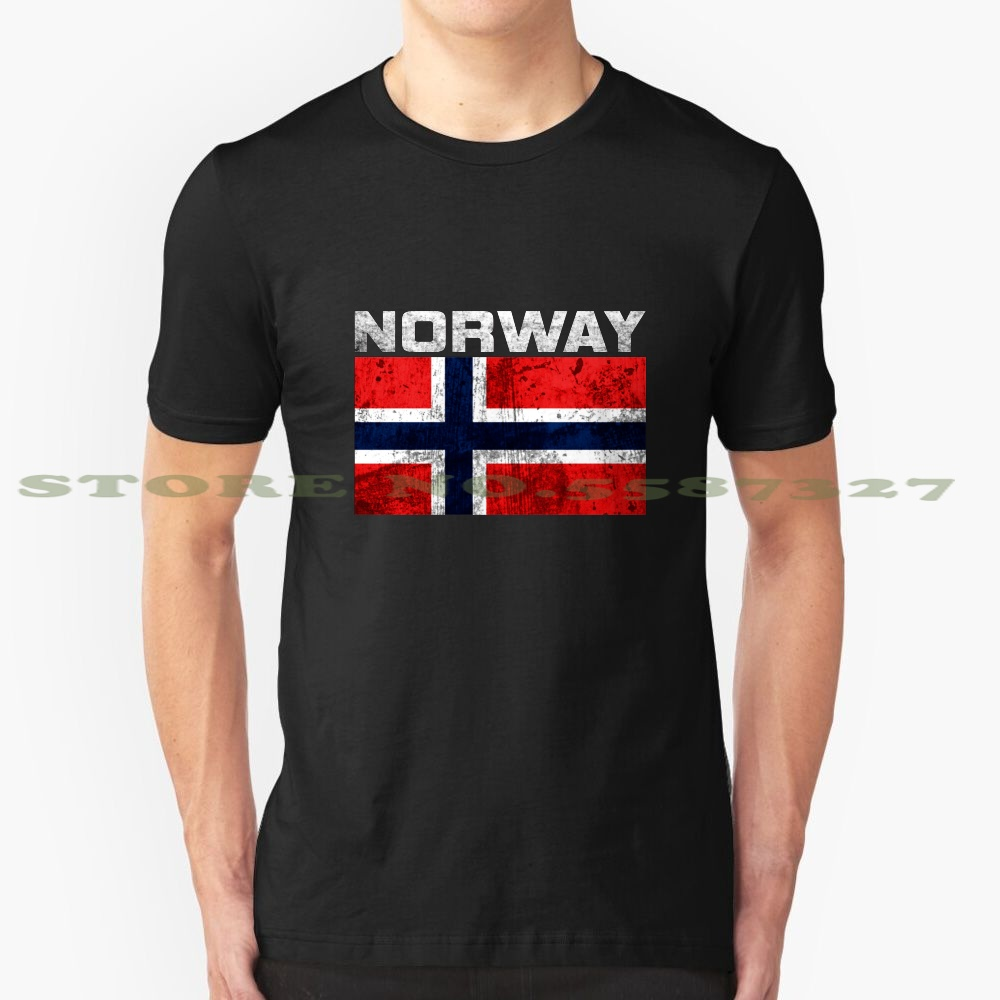 Norway Flag Country Fashion Vintage Tshirt T Shirts Norway Norwegian Norwegian Fans Norwegian Nationality T Shirts Aliexpress