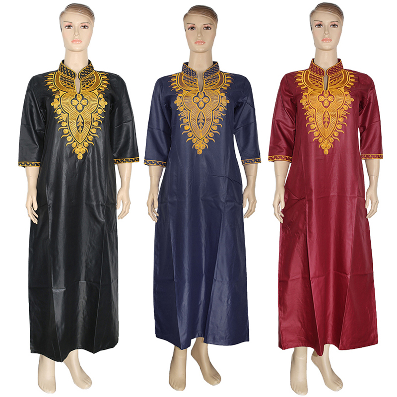 Md Ankara Dashiki Maxi Dress African Dresses For Women Plus Size Embroidered Dress South Africa Ladies Clothes Robe Bubu Africa Clothing Aliexpress