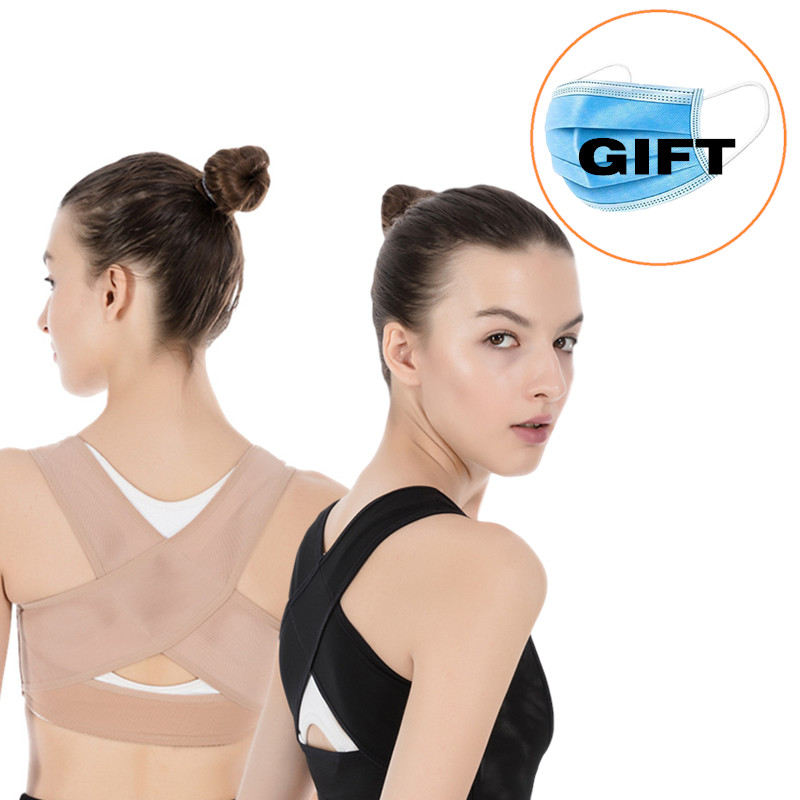 Adjustable Back Posture Brace Support Belt Corrector Shoulder Lumbar Rectify Straighten Clavicle Spine Back Posture Correction
