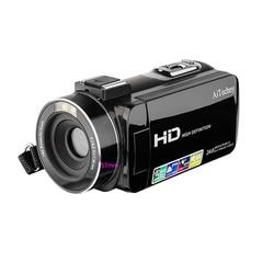 AMS-Camcorder, Digital Video Camera Full Hd 1080P 24.0Mp 3.0 Inch Lcd 270 Degrees Rotatable Screen 16X Digital Zoom Camera Recor