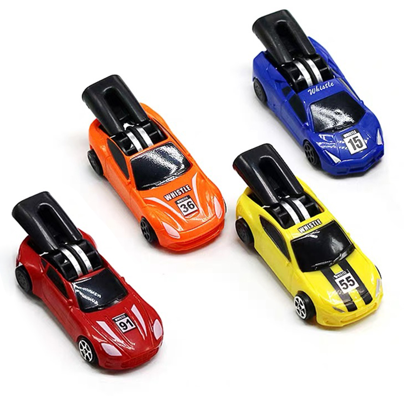1pc Funny Mini Whistling Speed Pull Back Toy Racing Car Model Toy Car Educational Toy Gift For Children