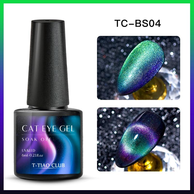 9D Гель-лак для ногтей с эффектом «кошачий глаз» лак Хамелеон звёздный Небесный Сияющий Магнитный Гель-лак для ногтей Магнитный замачиваемый УФ-гель лак черная основа - Color: DS08985