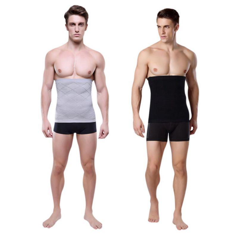 2020 Mens Shapers Waist Trainer Slimming Belt Waist Cincher Corset Body Shaper Workout Belt Compression Corset Body Shapers