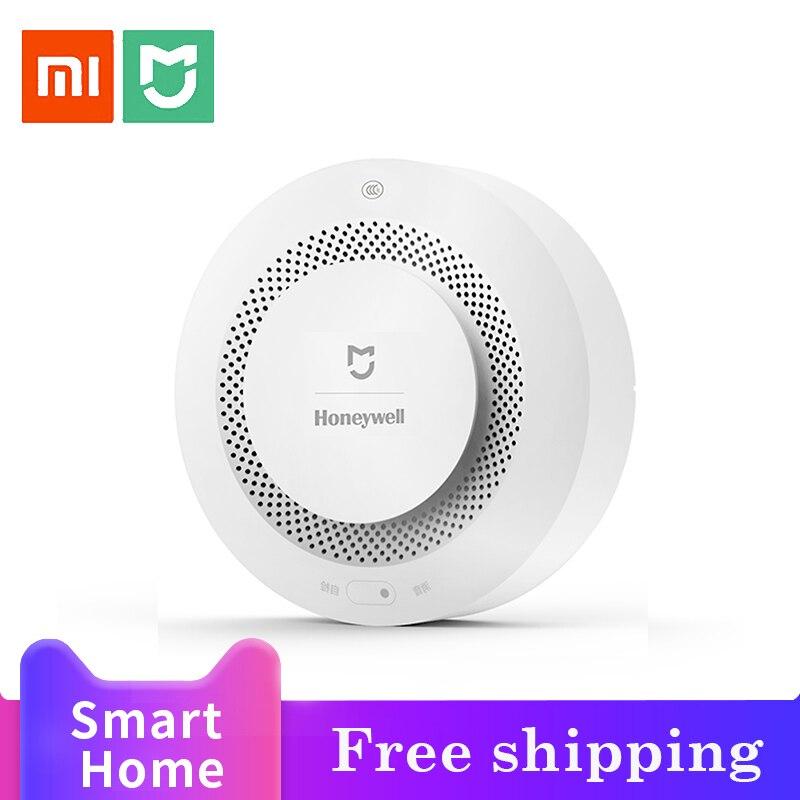 Xiaomi Honeywell Detector de alarma de fuego, Sensor sensible al humo, seguridad en el hogar Zigbee, alarma inteligente de fuego, Detector de humo, Control con aplicación Digitalizador de pantalla táctil de repuesto para Honeywell Dolphin 60S