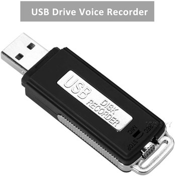 Digital Voice Recorder Micro USB Flash Drive Gravador de voz Espia Professional Audio Record Dictaphone Small Recording Device