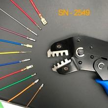 อิเล็กโทรดตัด Crimper CRIMPING TOOL สำหรับ Dupont 2.54/XH2.54/2.8/3.96/4.8/2510 /5557 Terminal 0.08 1.0mm2 AWG28 18 คีม