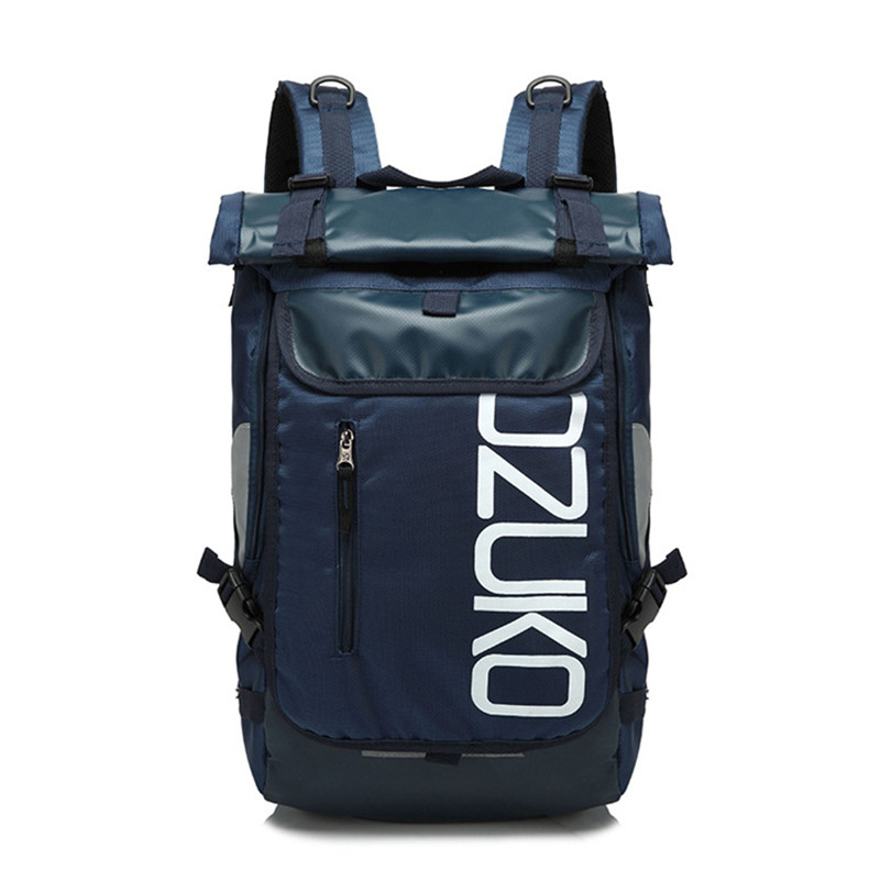 OZUKO Brand Fashion Men Travel Backpack Laptop Designer Oxford Waterproof large Backpack Women Casual School Bag for Teenagers