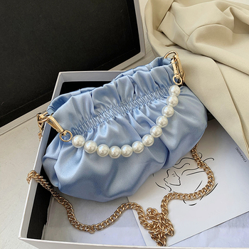 Pearl Small  Crossbody Bags For Women 2020 Elegant Sweet Shoulder Handbags Female Travel Chain Cross Body Bag
