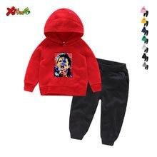 Детская одежда hoodeds комплект 2020 на осень и зиму для мальчиков