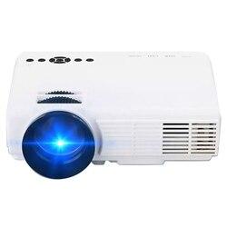 Android WI-FI Bluetooth Smart мини светодиодный проектор Q5 портативный видеопроектор для домашнего Кино фильм HDMI, VGA, AV USB Proyector штепсельная вилка европей...