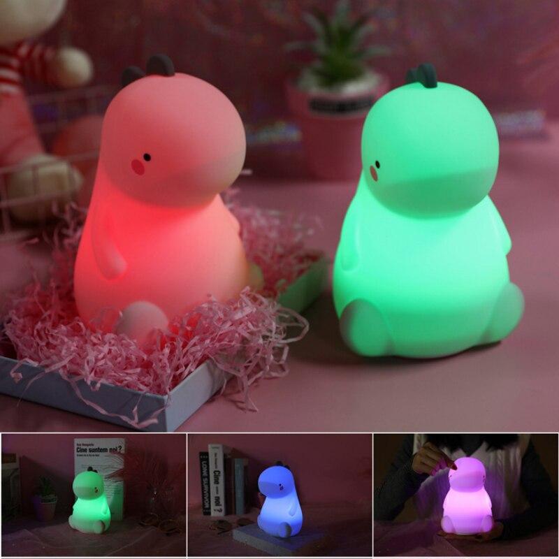 dos desenhos animados led night light usb 04