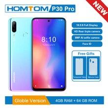 Глобальная версия смартфона P30 pro MT6763, Восьмиядерный, 4 ГБ, 64 ГБ, экран 6,41 дюйма, Android 9,0, задняя камера 13 МП, мобильный телефон