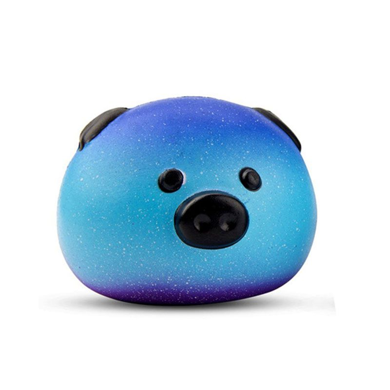 Anti-stress Cute Squishy Toy Galaxy Pig Squishy Slow Rising Animals Squishi Phone Strap Soft Funny Toys For Kids