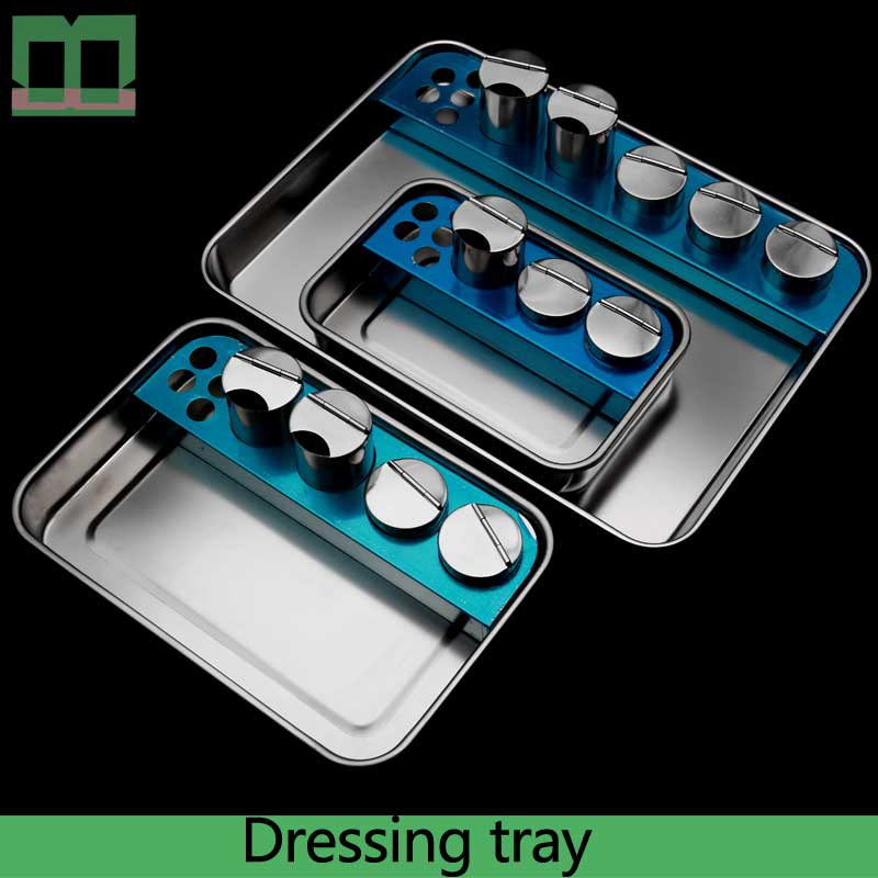 Dressing Tray Stainless Steel Medicine Glass Medical Tray Surgical Operating Instrument Infusion Panel Disinfection Of Plate