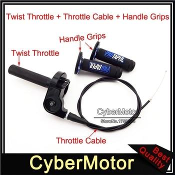 Empuñaduras de acelerador de giro, Cable para CR RM 80 85 1/4 125 TTR 250 110 YZ 125 XR XL CRF 70 80 250 100 Pit Motor de tierra, 1 200