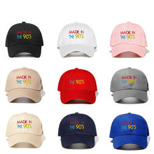 Baseball Cap Hip Hop Embroidery Cotton The Rapper Dad Hat Outdoor Streetwear Snapback Men Hat Male Sports Cap(China)