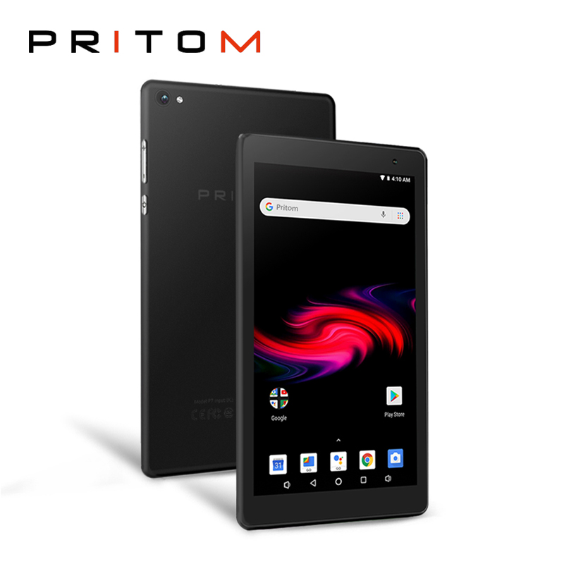 PRITOM 7 Inch Android Tablet PC P7 32GB ROM Tablets Quad Core Android 8.1 IPS HD Display Camera WiFi Bluetooth Android Tablet