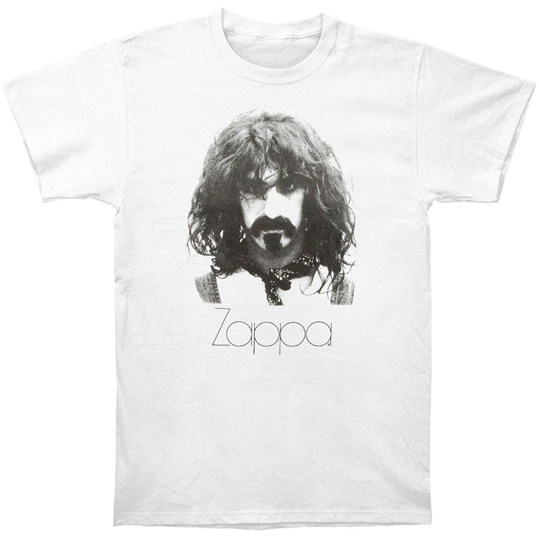 Men T shirt Frank Zappa Portrait Adult funny t-shirt novelty tshirt women