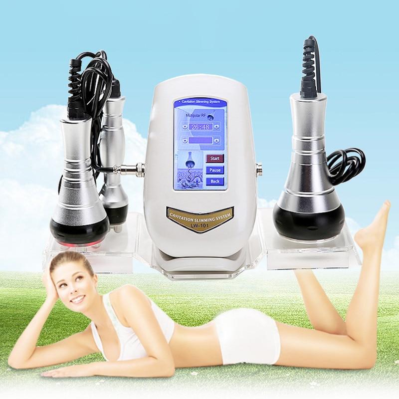 Burn Fat Slimming Massage 40K RF Multipole Radio Frequency Ultrasound Beauty Machine