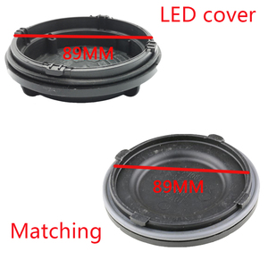 Image 5 - Kia k2 2015 ampul revizyon kapak LED HID H4 lamba toz geçirmez hood otomobil farlar su geçirmez toz geçirmez arka tozluk