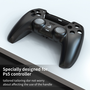 Image 5 - ABS Replacement Controller Shell for PlayStation 5 PS5 Controller Gamepad DIY Front Cover Back Cover for DualSense