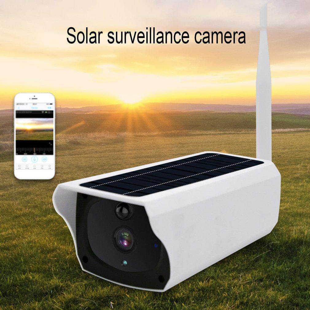 VS-Y4p WIFI Waterproof Solar Camera Wireless Intelligent Security Surveillance Camera Night Vision Audio CCTV