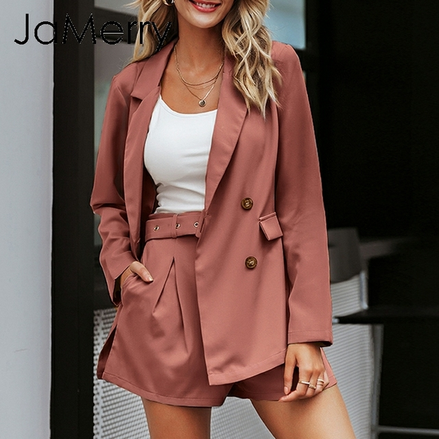 JaMerry Highstreet chic two piece set women blazer set