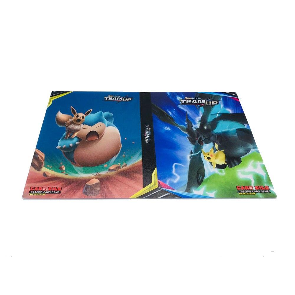 240 шт. держатель Альбом игрушки коллекции pokemones карты Альбом Книга Топ загруженный список игрушки подарок для детей - Цвет: A