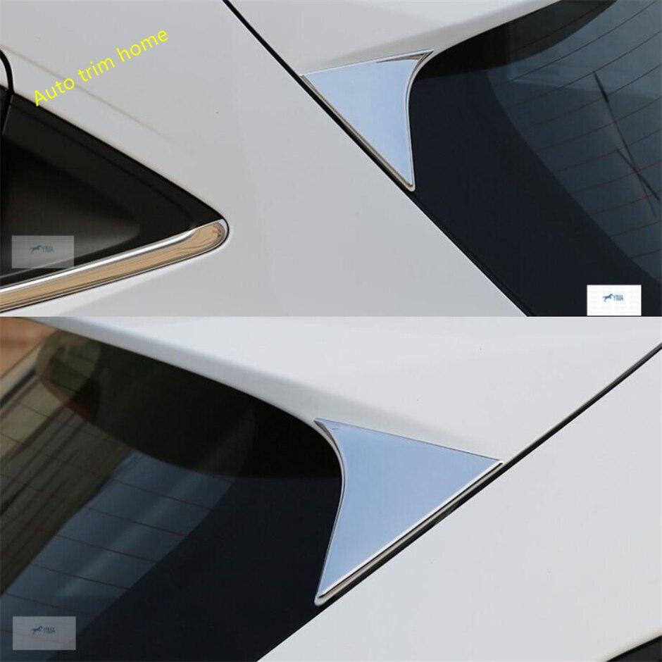Lapetus Čelní sklo zadního spojleru Trojúhelníkový panel Kryt obložení vhodný pro Honda Vezel HR-V 2014 - 2019 ABS Auto příslušenství