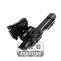 Tactical Magnifier Folding Mount For EOTech G23 G33 3X 20mm Picatinny Rail Flip To Side Quick Detach w/ 5/8 Riser Left Hand