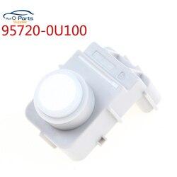 Biały kolor nowy czujnik parkowania PDC 95720-2S301 957202S301 PDC dla Hyundai IX35 marka oryginalna wysokiej jakości 95720-0U100