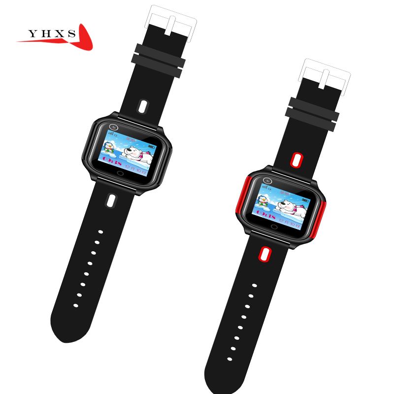 Smart <font><b>4G</b></font> Remote Camera GPS WI-FI SOS Video Call Heart Rate <font><b>Blood</b></font> <font><b>Pressure</b></font> Monitor Tracker Elder Student Wristwatch Phone <font><b>Watch</b></font> image