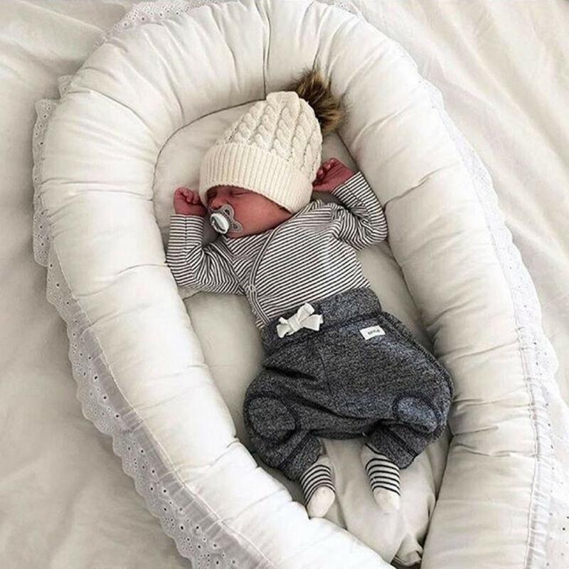 CANIS Newborn Infant Kid Baby Boy Long Sleeve Striped Bodysuit Jumpsuit Long Pants Clothes Outfit