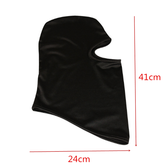 Black Face Mask Motorcycle Balaclava Tactical Face Shield Mascara Ski Mask Cagoule Visage Full Face Mask Gangster Mask 2