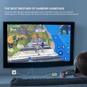 Image 5 - GameSir GTV100 נייד HDMI תצוגת מתאם כבל 1920*1080P שידור עבור iPhone / iPad מסך סנכרון