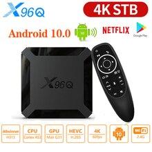 X96Q Android 10.0 TV Box Allwinner H313 Quad Core 2GB RAM 16