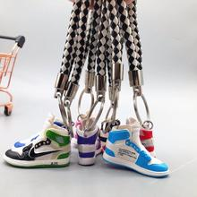 Fashion Sport Shoes AJ Keychain Mini Shoe Men Women Classic Color Retro Generation Basketball Key ring