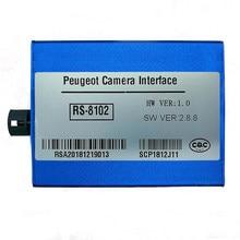 SMEG i SMEG + System 208 2008 308 3008 508 kamera cofania Upgrade wideo samochodowe interfejs kamery dla Peugeot Parking wytyczne