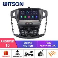 Нет в наличии! WITSON Android 10,0 автомобильный dvd-плеер для Ford focus 2012 GPS стерео 4 Гб RAM + 64 Гб FLASH 8 Octa Core + DVR + DSP + DAB + OBD