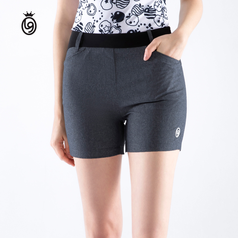 Golf clothing women's shorts, comfortable, lightweight, fashionable, slim, casual sportswear, quick-drying, breathable short