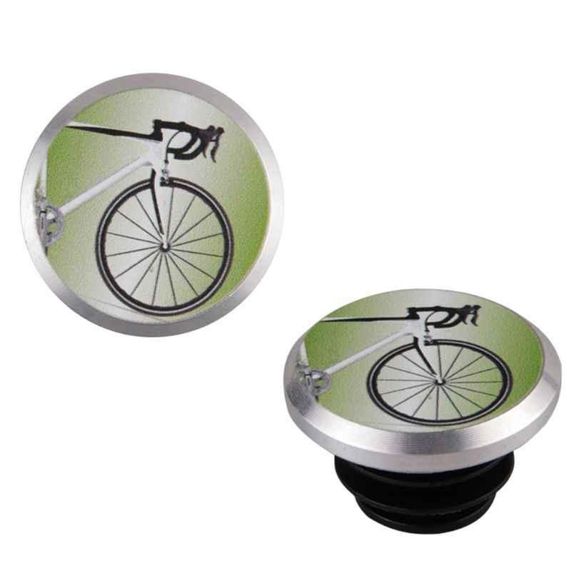 15.8-19.5mm Road Bike Bicycle Handlebar End Caps Bar Plugs for Inner Dia