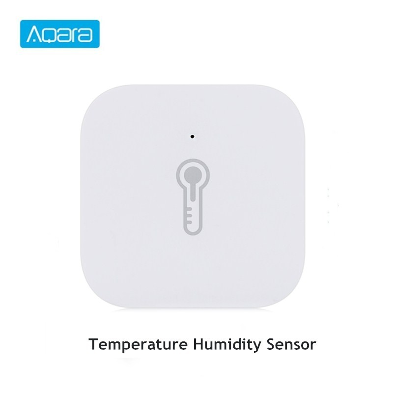 Aqara Smart Temperature Humidity Sensor Air Pressure Environment Sensor Work With Mi Home App|Building Automation| |  - title=